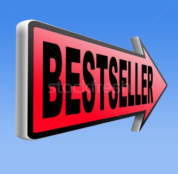 Bestseller best verkoper top product gezocht Stockfoto © kikkerdirk