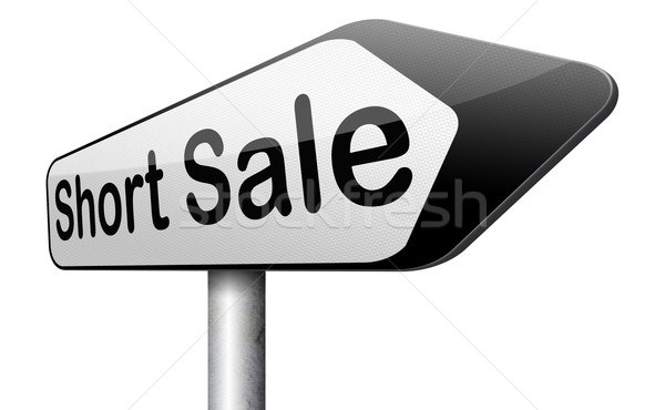 short sale Stock photo © kikkerdirk