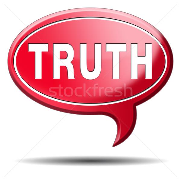 truth Stock photo © kikkerdirk
