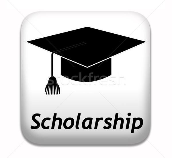 ösztöndíj segély egyetem főiskola oktatás tanulás Stock fotó © kikkerdirk