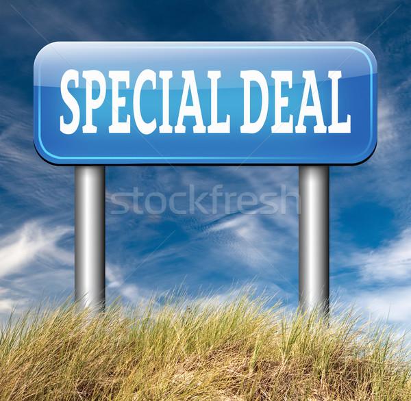 special deal Stock photo © kikkerdirk