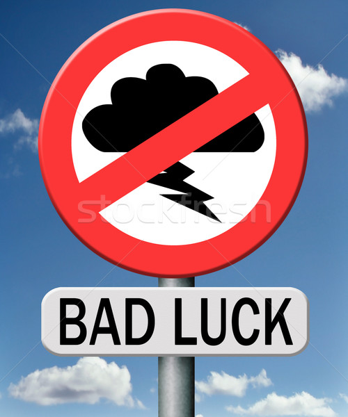 bad luck Stock photo © kikkerdirk