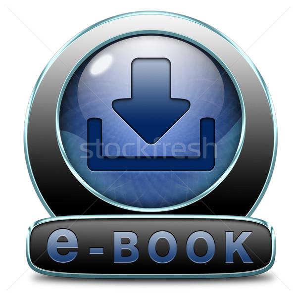 Ebook baixar ler on-line eletrônico livro Foto stock © kikkerdirk