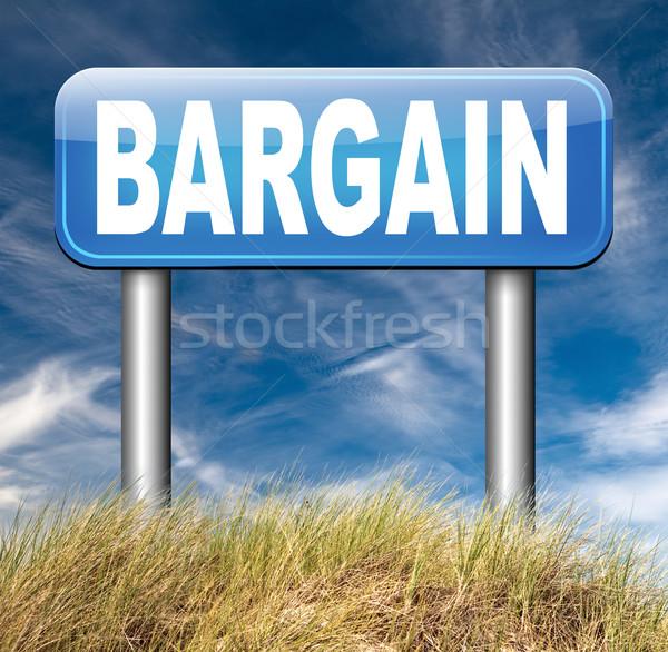 Alkalmi vétel különleges ár eladó legjobb ajánlat Stock fotó © kikkerdirk
