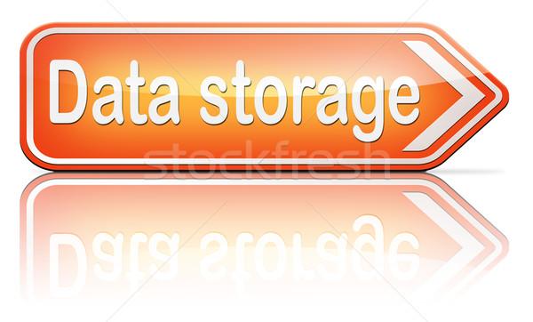 data storage Stock photo © kikkerdirk