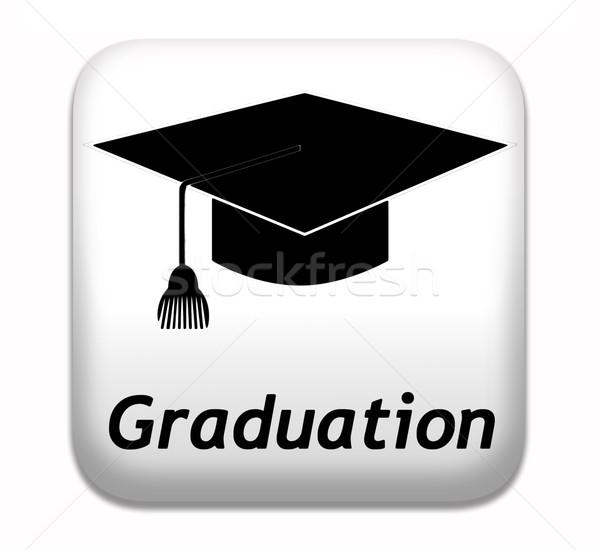 Stock photo: graduation day