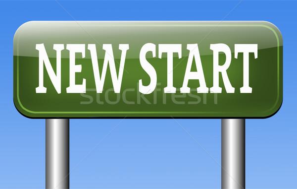 new fresh start Stock photo © kikkerdirk