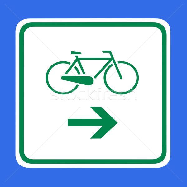 自転車 ラベル 画像 矢印 デザイン にログイン ストックフォト © Kirschner
