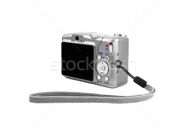 Dijital fotoğraf makinesi görüntü geri yan arka plan dijital Stok fotoğraf © Kirschner