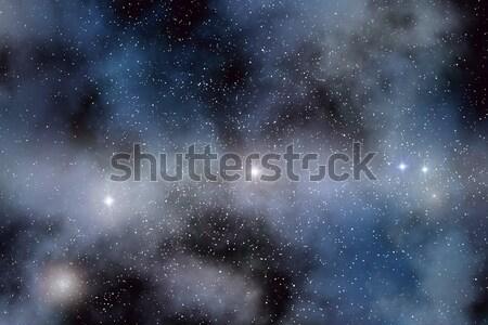 Laiteux façon image vue nuages fond Photo stock © Kirschner