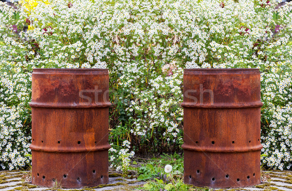 Rusty Barrel Stock photo © Kirschner