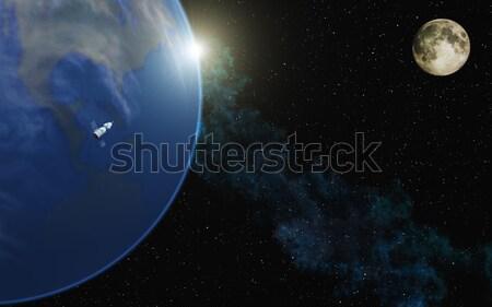 Blue Planet Stock photo © Kirschner