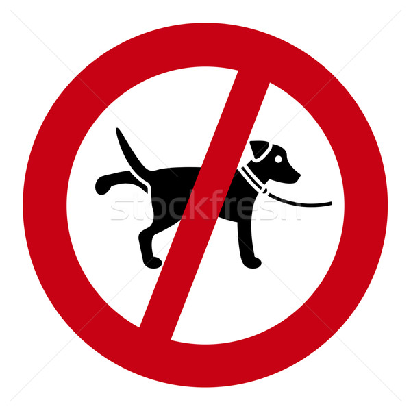 Dog Sign Stock photo © Kirschner