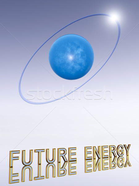 Hydrogen Atom Stock photo © Kirschner
