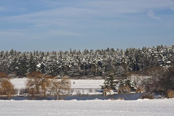 海 冬 画像 のどかな 風景 空 ストックフォト © Kirschner