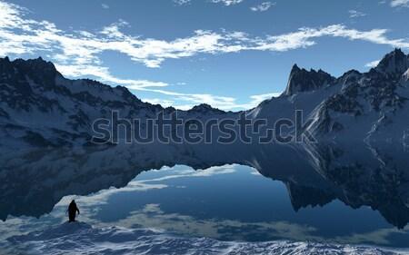 Арктика день изображение небе воды природы Сток-фото © Kirschner