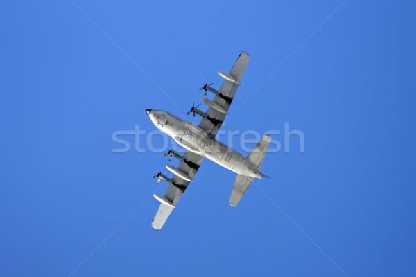 Levegő repülőgép kép repülés elvesz el Stock fotó © Kirschner