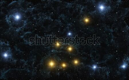 Zodiac Sign Gemini Stock photo © Kirschner