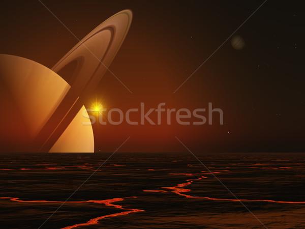 Saturn Stock photo © Kirschner
