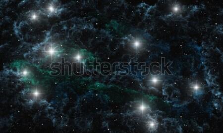 Stok fotoğraf: Görüntü · soyut · arka · plan · uzay · star · siyah