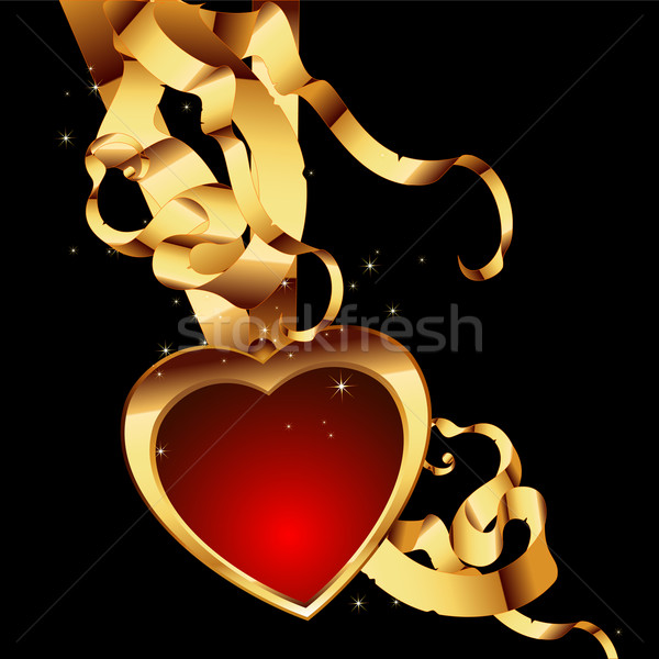 heart frame Stock photo © kjolak