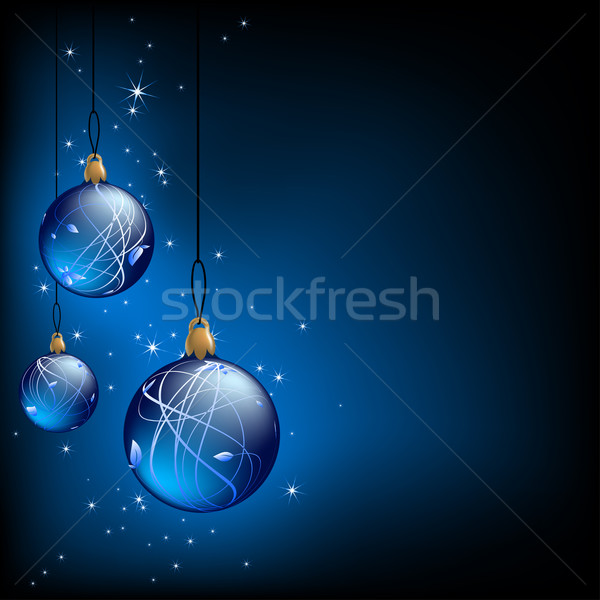 Photo stock: Noël · illustration · utile · designer · travaux · cadre