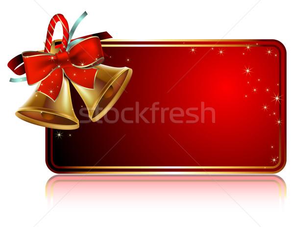 Noel kart örnek yararlı tasarımcı çalışmak Stok fotoğraf © kjolak
