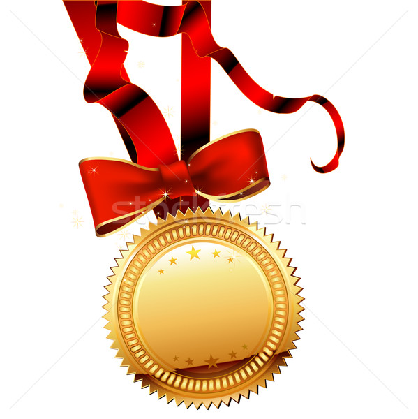 medal with ribbon Stock photo © kjolak