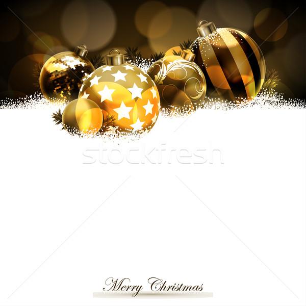 Stock fotó: Karácsony · illusztráció · hasznos · designer · munka · boldog