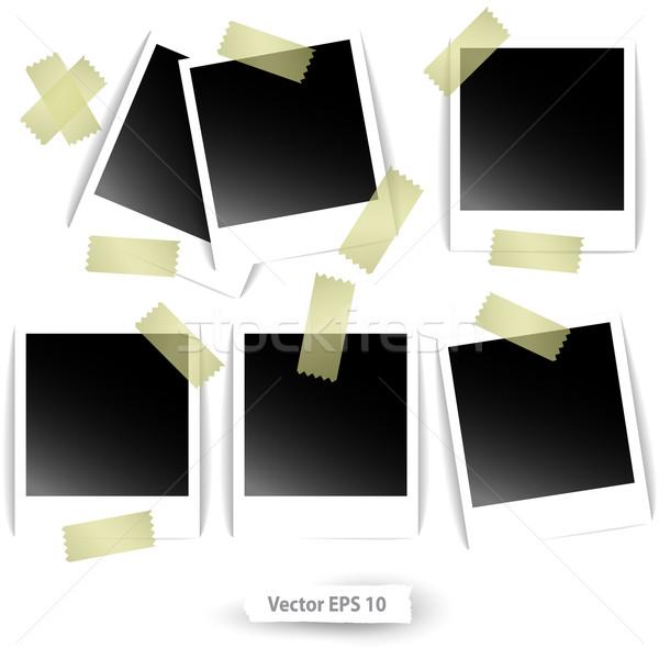 set of photos Stock photo © kjolak