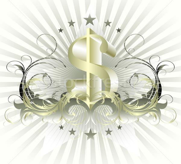 Pénz dollár illusztráció hasznos designer munka Stock fotó © kjolak