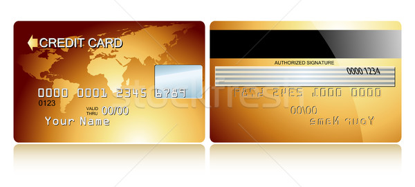 card credit Stock photo © kjolak