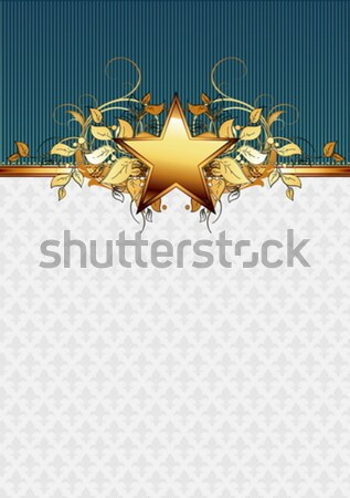 sheriff star with guns Stock photo © kjolak