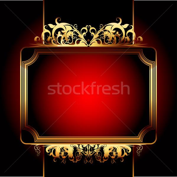 ornate frame Stock photo © kjolak