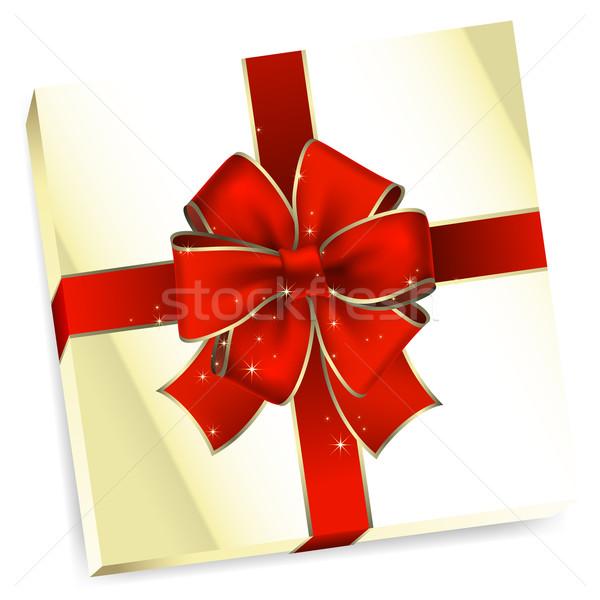 Vacanze regalo illustrazione utile designer lavoro Foto d'archivio © kjolak