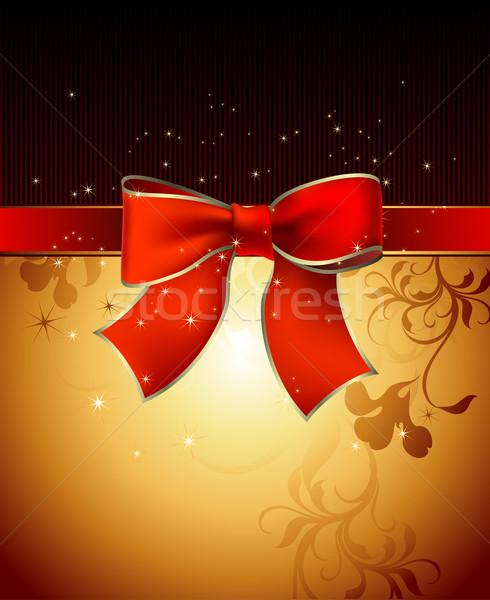celebrate bow background Stock photo © kjolak