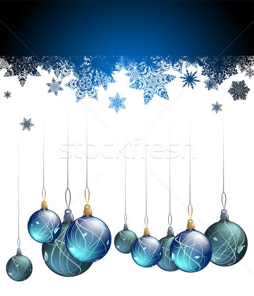 Natale illustrazione utile designer lavoro Foto d'archivio © kjolak