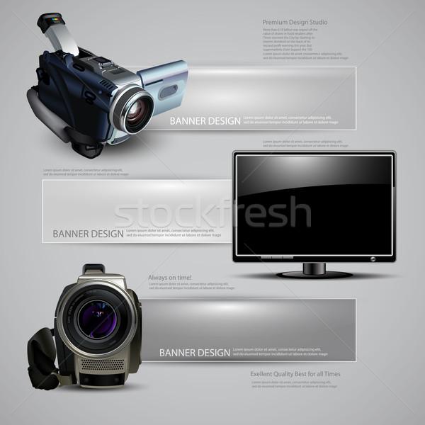 digital devices Stock photo © kjolak