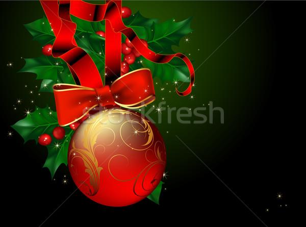 christmas background Stock photo © kjolak