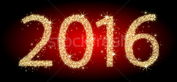 the year two thousand and sixteen Stock photo © kjolak