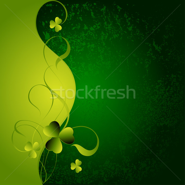 Photo stock: Feuille · trèfle · symbole · illustration · utile · designer