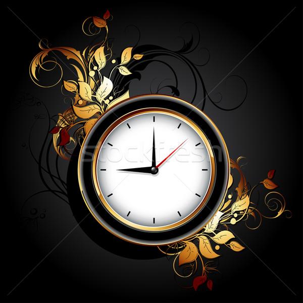 Stok fotoğraf: Web · simgesi · saatler · elemanları · örnek · yararlı