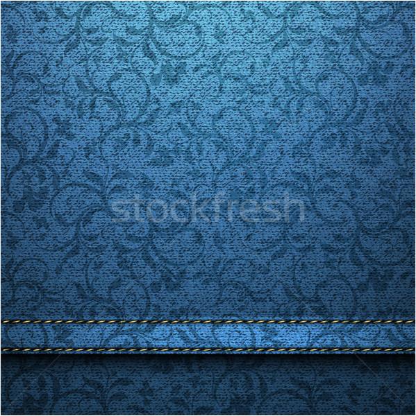 текстильной текстуры иллюстрация полезный дизайнера работу Сток-фото © kjolak