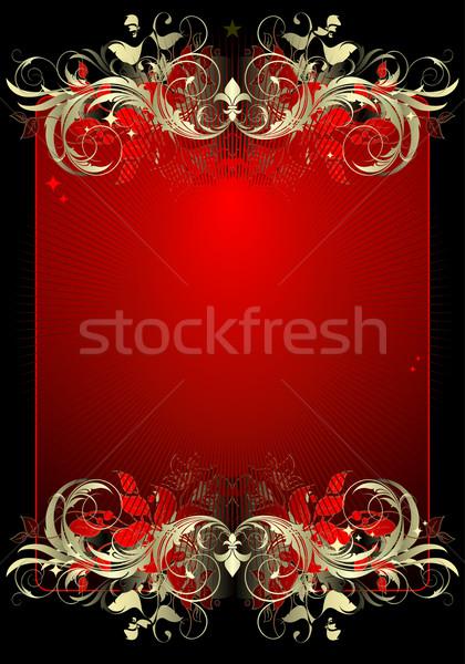 Illusztráció hasznos designer munka absztrakt terv Stock fotó © kjolak