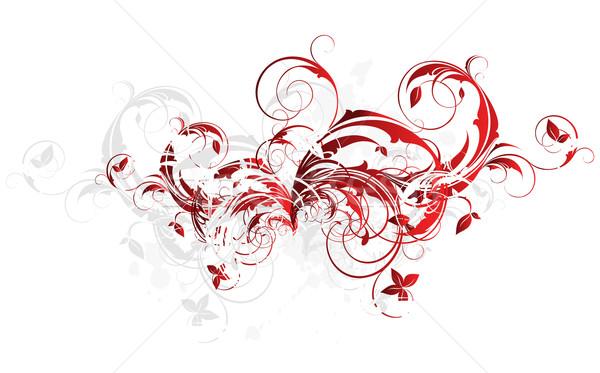 Stockfoto: Illustratie · nuttig · ontwerper · werk · bloem