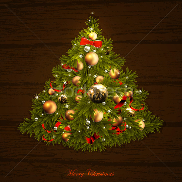 christmas tree Stock photo © kjolak