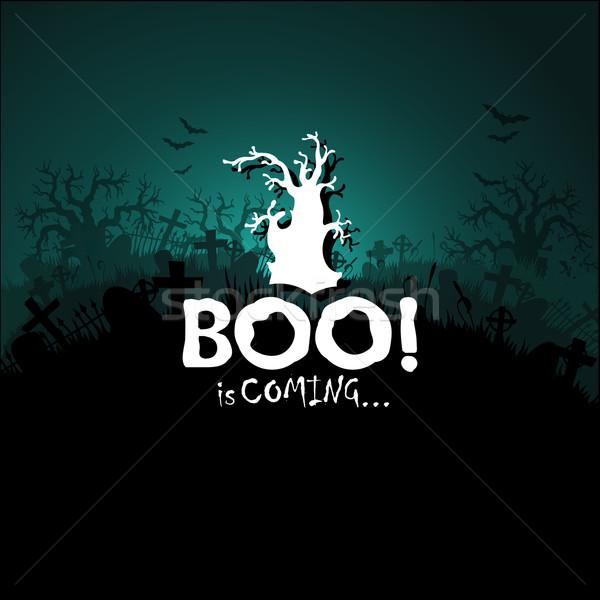 Halloween illustratie nuttig ontwerper werk partij Stockfoto © kjolak