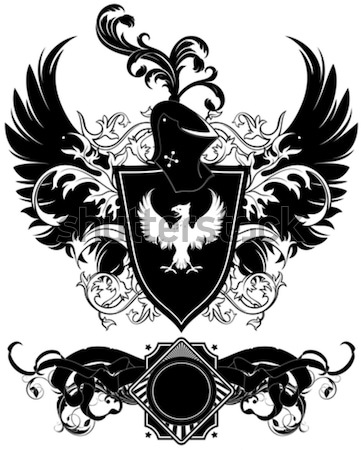 набор декоративный Элементы орудий иллюстрация полезный Сток-фото © kjolak