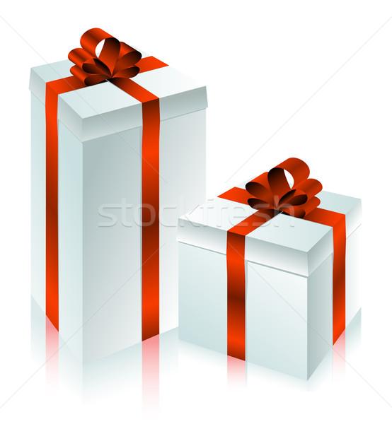Vakantie geschenk illustratie nuttig ontwerper werk Stockfoto © kjolak