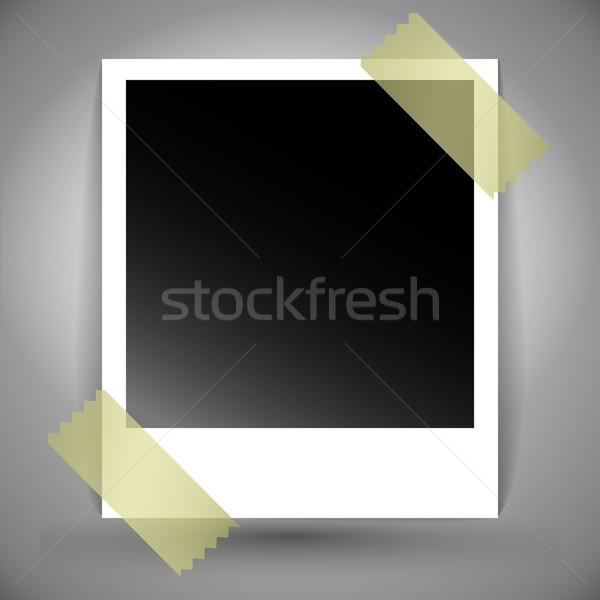 polaroid photo Stock photo © kjolak